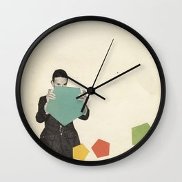 Discovering New Shapes Wall Clock