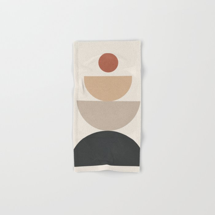 Geometric Modern Art 31 Hand & Bath Towel