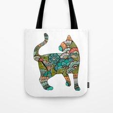 Vegetarian cat Tote Bag