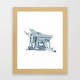 Hanok Morning Framed Art Print