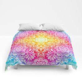 Pastel Boho Mandala Comforters