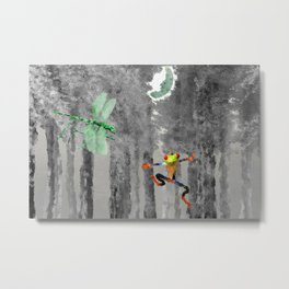 Forest of Giants Metal Print