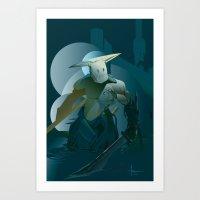 doom Art Prints featuring DOOM by orlando arocena ~ olo409- Mexifunk