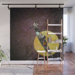 Fishing for the Moon Wall Mural