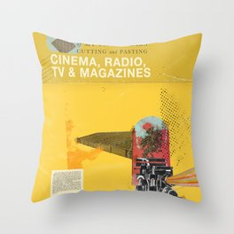 Cinema, Radio, TV and Magazines Throw Pillow