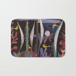 Landscape With Yellow Birds Paul Klee Bath Mat