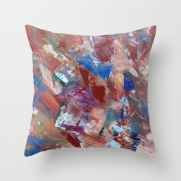 A Spike Of Pain Throw Pillow