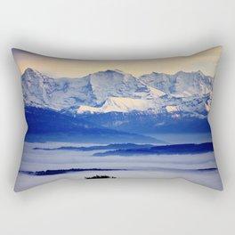Alps from Jura Rectangular Pillow