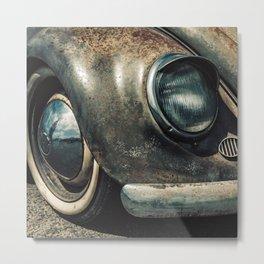 Classic Car Enjoying Retirement Metal Print