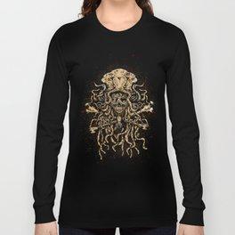 Cthulhu Cult - Apparel print Long Sleeve T-shirt