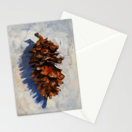Winter Pine Stationery Cards