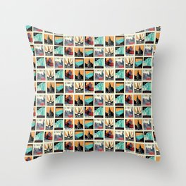Travel Posters Throw Pillow