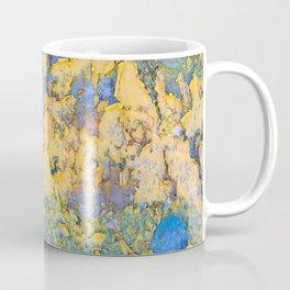 Flaking paint in Valparaiso Coffee Mug