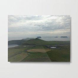 Vestmannaeyjar Metal Print