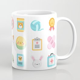 CUTE VET / VETERINARIAN PATTERN Coffee Mug