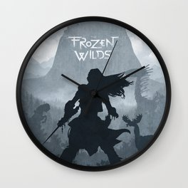 Horizon Zero Dawn The Frozen Wilds Wall Clock