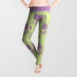 Lilac Cat Wears Tibracorn Onesie Leggings