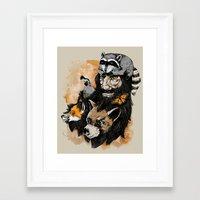best friends Framed Art Prints featuring Best Friends by Nikoby