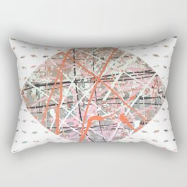 Flight of Color - diamond graphic Rectangular Pillow