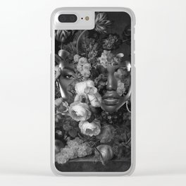 What's Going On Clear iPhone Case