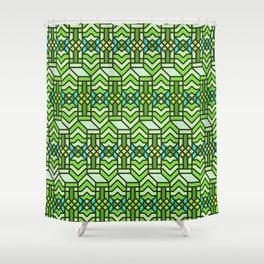 Op Art 122 Shower Curtain