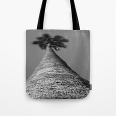 Blurry Palm Tote Bag