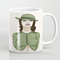 military Mugs featuring Sexy Military by Leslie Pinto