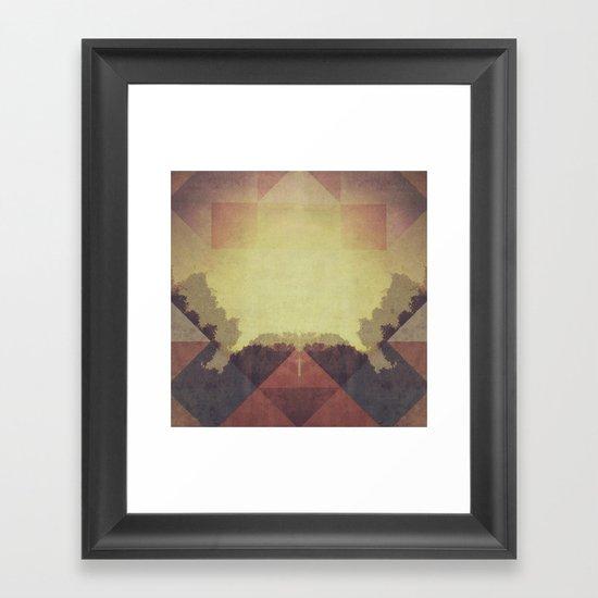 The Last Light Framed Art Print
