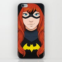 batgirl iPhone & iPod Skins featuring Batgirl by SoLaNgE-scf