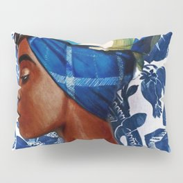Turban lady Pillow Sham