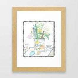 Gathered Framed Art Print