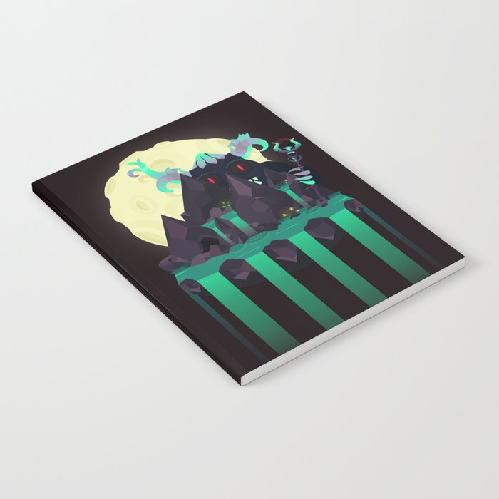 Moonlit Titan Notebook