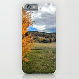 I can see your halo - Mt Sopris - Glenwood Springs, CO iPhone Case