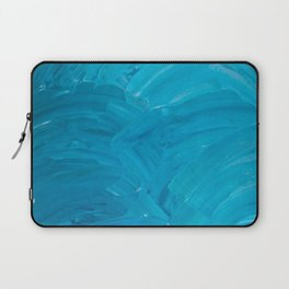 Blue Swipes Laptop Sleeve