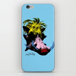 Andy Warthog iPhone Skin