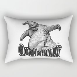 Oogie Boogie Ink Drawing Rectangular Pillow