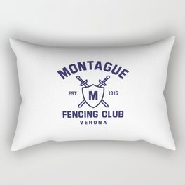Montague Fencing Club - Romeo & Juliet Rectangular Pillow