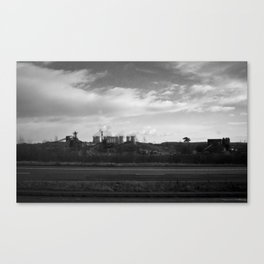 Road Side Canvas Print