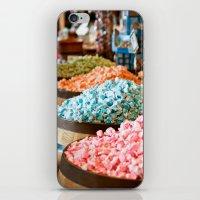 salt water iPhone & iPod Skins featuring Salt Water Taffy by Wendy Tienken
