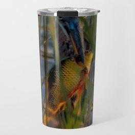 BLUE HERON'S FRIDAY SUNDOWN FISH FEAST Travel Mug