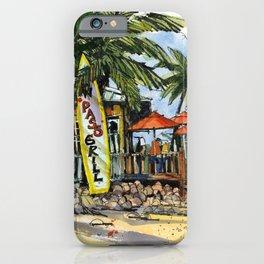 New Pass Grill, Sarasota iPhone Case