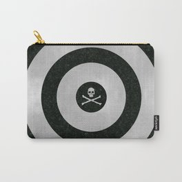 Silver Target Carry-All Pouch
