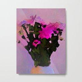 Pink Flowers 1 Metal Print