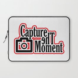 Capture the moment Laptop Sleeve
