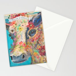 Frida's Pet Cow Stationery Cards