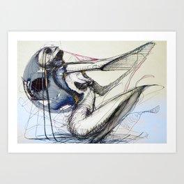 nine hundred Art Print