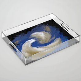 """""""Restless Love Clouds"""" Acrylic Tray"""