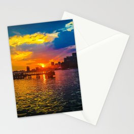 Baltimore Sunset Stationery Cards