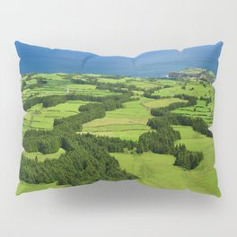 Typical Azores landscape Pillow Sham