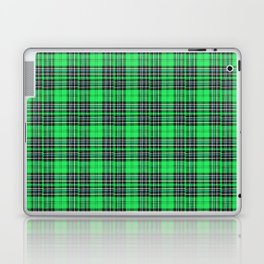 Lunchbox Green Plaid Laptop & iPad Skin